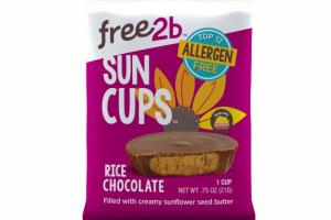 RICE CHOCOLATE FILLED WITH CREAMY SUNFLOWER SEED BUTTER