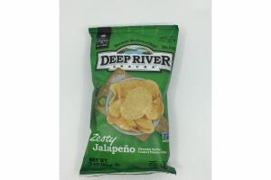 ZESTY JALAPENO FLAVORED KETTLE COOKED POTATO CHIPS