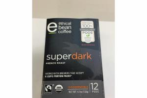 SUPER DARK FRENCH ROAST COFFEE, K-CUP PORTION PACKS
