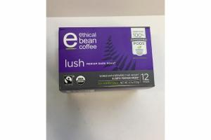 LUSH MEDIUM DARK ROAST COFFEE