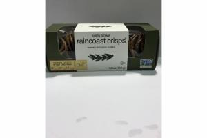 RAINFOREST CRISP ROSEMARY RAISIN PECAN CRACKERS