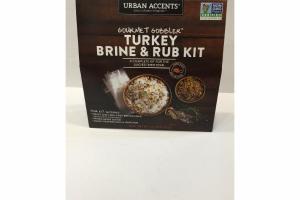 TURKEY BRINE & RUB KIT