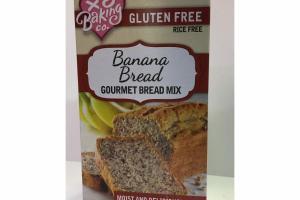 GLUTEN FREE BANANA BREAD GOURMET BREAD MIX
