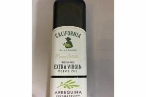 ARBEQUINA FRESH & FRUITY FIRST COLD PRESS EXTRA VIRGIN OLIVE OIL