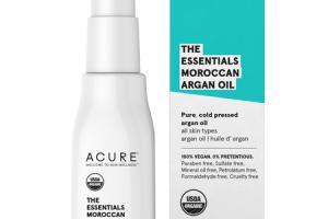THE ESSENTIALS MOROCCAN ARGAN OIL