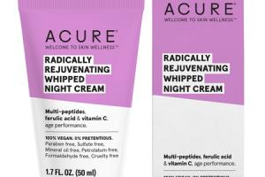 RADICALLY REJUVENATING WHIPPED NIGHT CREAM MULTI-PEPTIDES, FERULIC ACID & VITAMIN C