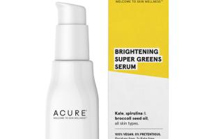 BRIGHTENING SUPER GREENS SERUM, KALE, SPIRULINA & BROCCOLI SEED OIL