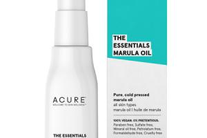THE ESSENTIALS MARULA OIL, PURE, COLD PRESSED