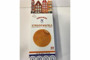 ORIGINAL STROOPWAFELS TOASTED WAFFLES FILLED WITH CARAMEL