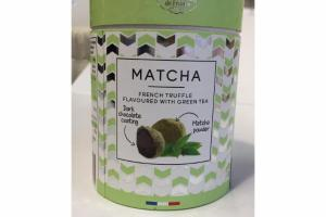 FRENCH TRUFFLE FLAVORED WITH GREEN TEA MATCHA