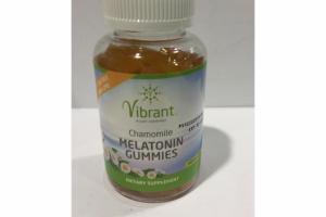 CHAMOMILE MELATONIN GUMMIES DIETARY SUPPLEMENT