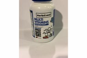 BERRY MULTI VITAMINS GUMMIES FOR ADULTS