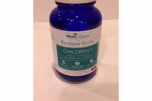 CHILDREN'S PEDIATRIC PROBIOTIC WITH UABIA-12 & DDS-1 CHERRY CHEWABLE TABLETS DIETARY SUPPLEMENT