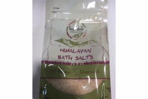 UNSCENTED 100% PURE MALAYAN BATH SALTS