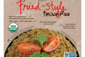 ORGANIC FRIED-STYLE BROWN RICE