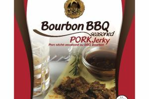 PORK JERKY BOURBON BBQ SEASONED