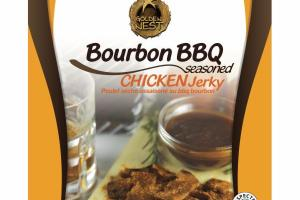 BOURBON BBQ SEASONED CHICKEN JERKY