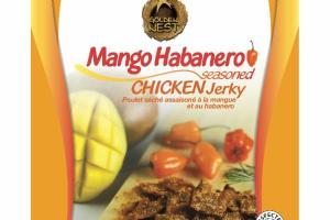 MANGO HABANERO SEASONED CHICKEN JERKY
