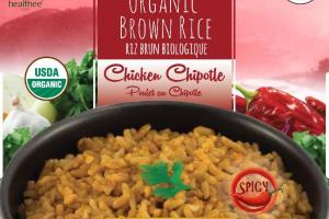 CHICKEN CHIPOTLE SPICY ORGANIC BROWN RICE