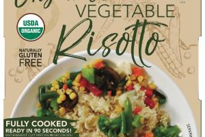 ORGANIC VEGETABLE RISOTTO
