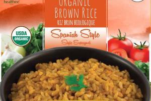SPANISH STYLE ORGANIC BROWN RICE