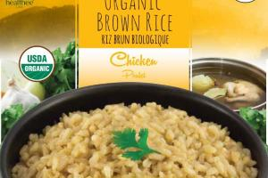 CHICKEN ORGANIC BROWN RICE