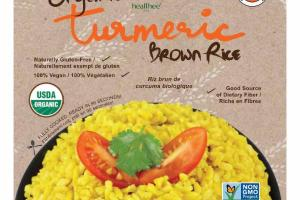 TURMERIC ORGANIC BROWN RICE