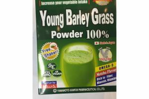 100% YOUNG BARLEY GRASS POWDER