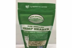 RAW SHELLED HEMP HEARTS