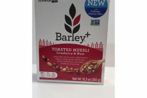 CRANBERRY & NUTS TOASTED MUESLI