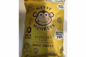CHEESE FLAVOR BAKED SNACKS