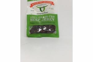 SMOKIN' HOT JALAPENO 100% GRASS-FED BEEF JERKY