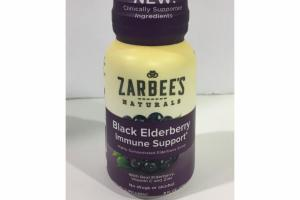 BLACK ELDERBERRY IMMUNE SUPPORT DIETARY SUPPLEMENT