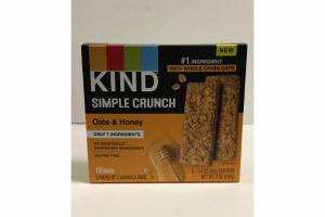 OATS & HONEY SIMPLE CRUNCH