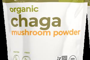 ORGANIC CHAGA MUSHROOM POWDER