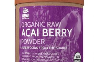 ORGANIC RAW ACAI BERRY POWDER