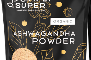 ASHWAGANDHA POWDER ORGANIC SUPERFOODS