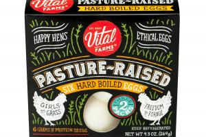 Pasture-raised Hard Boiled Eggs