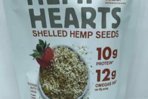 DELICIOUS NUTTY FLAVOR HEMP HEARTS SHELLED HEMP SEEDS