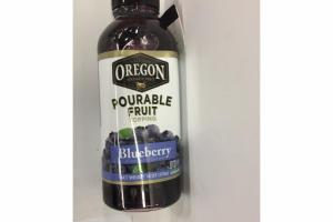 BLUE BERRY POURABLE FRUIT TOPPING