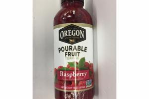 RASPBERRY POURABLE FRUIT TOPPING