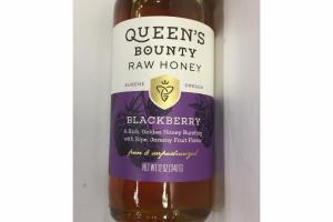 100% PURE BLACKBERRY RAW HONEY