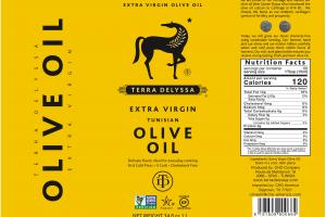 Extra Virgin Tunisian Olive Oil