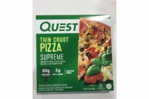 THIN CRUST PIZZA SUPREME