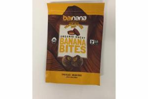 DARK CHOCOLATE PEANUT BUTTER CUP ORGANIC CHEWY BANANA BITES