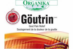 CHERRY FRUIT POWDER GOUTRIN GOUT PAIN RELIEF VEGETARIAN CAPSULES