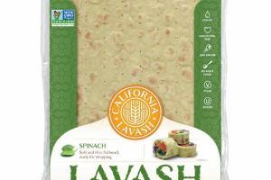 SPINACH LAVASH FLATBREADS