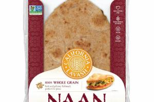100% WHOLE GRAIN NAAN
