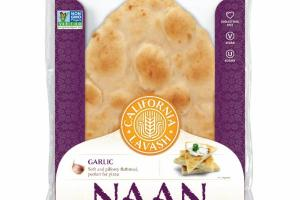 NAAN GARLIC FLATBREADS