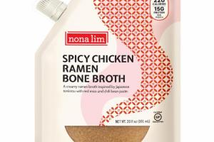 SPICY CHICKEN RAMEN BONE BROTH